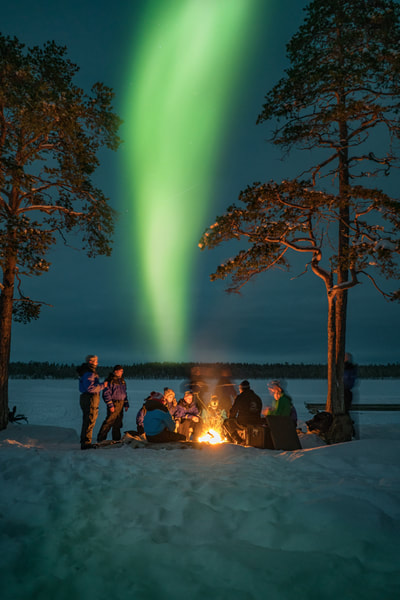 Chasing the Northern Lights, Northern Finland